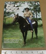 Grand National Illustrated Racing Magazine 1983 Dale Earnhardt Sr Cover On Horse