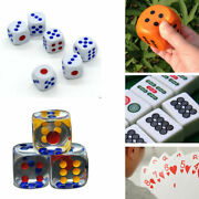 Six Sided Square Opaque 12-320mm Dice With White Dice Party Game Casino Supplies
