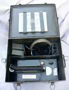 Radiation Detector Us Navy Radiac Set An/pdr-27e With Case