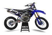New Dirtx Industries Factory Storm Complete Graphics Kit Yz Yzf 85 125 250 450