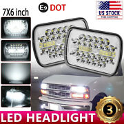 7x6 Led Headlight Sealed Beam Headlamp Chevy Express Cargo Van 1500 2500 3500