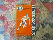 1968-69 Miami Floridians Media Guide Yearbook Donnie Freeman 1969 Aba Program Ad