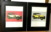 2 Andy Warhol Mercedes Benz Prints Hand Signed