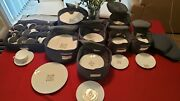 Raymond Loewy Fanfare China Set - Excellent Condition 67 Pieces