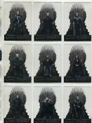 Game Of Thrones Season 8 Complete Acetate Chase Card Set T1-20