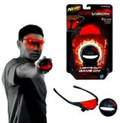 Nerf Firevision Fire Vision Sports Hyper Bounce Ball Sports Glowing Light Effect