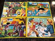 Set Of 4 Vintage Jaymar Dondi Puzzles 1960s Great Condition Complete