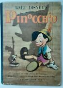 Disney Pinocchio 1st Edition 1939 Signed Frank Ollie And Ward