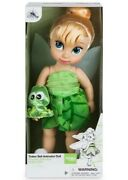 """New 16"""" Disney Animators' Collection Toddler Tinkerbell Tinker Bell Doll"""