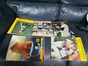 Sports Illustrated 1967 1968 1970 1980 Detroit Tiger Yearbook Magazines