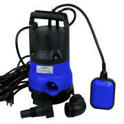 2000 Gph Submersible Water Pump Clean Dirty 1/2hp Swimming Flooding Pool Pond