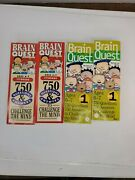 Brain Quest 750 Questions And Answers Ages 6-7 First Grade 4 Decks Homeschooling