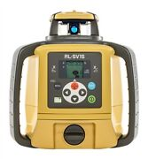 Topcon Rl-sv1s Self-leveling Grade Laser With Ls100d Detector