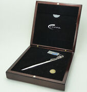 Cross Sterling Silver Limited Edition Tennis Fountain Pen New In Box 0079/1954