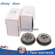 1 Pair Exhaust+intake Camshaft Adjuster Fit For Bmw F30 F10 X1 X3 X4 220i 320i