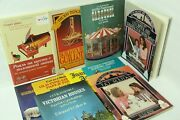 Lot Of 10 Cut And Assemble Books Paper Dolls Toys Ho Scale Circus Guillotine Piano