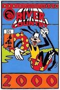 Old Rare Disney Pin Goofy Comic Book Cover River Country 2000 Closed Water Park