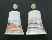 Portmeirion Compleat Angler - Salt And Pepper Shakers