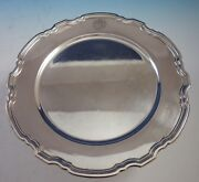 Hampton By And Co. Sterling Silver Charger Plate 20843 10 3/4 2869