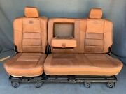 2007 2006 2005 2004 F350 F250 King Ranch Rear Seat New Condition