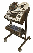 New Custom Cart Stand With Rack Mount 2u - 10u For Any Reel Recorder Deck Pult