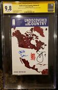 Undiscovered Country 1 Ashcan Cgc 9.8 Ss Sdcc 2019 🔥 3x Signed Snyder Soule Cam