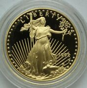 1992-p Gold American Eagle Proof 1/2 Oz 25 In Capsule
