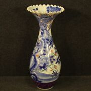 Japanese Vase Furniture Object Cup In Painted Ceramic Antique Style Oriental