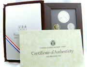 1988 Us Olympic 6 Coins Prestige Set With Silver Dollar - Us Mint Proof Set