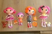 Lot Lalaloopsy Dolls Sunnyside Up Squirt Crumbs Sugar Cookie Toffee Cocoa Cuddle