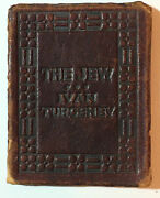 Little Leather Library  The Jew  By Ivan Turgenev   Real Leather  Rarest