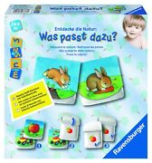 Ravensburger Was Fits As Well Fabric Book Fabric Cards Baby Toys Children Game