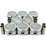 P3108 Dnj Pistons Set Of 8 New For Chevy Olds Le Sabre Suburban Express Van