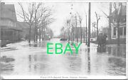 1913 Flood Marion Indiana 2nd Street Police Officers - A18