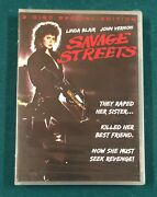 Savage Streets Special Edition 2 Disc Dvd Brand New Factory Sealed R1 Ws Oop