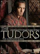 The Tudors The Complete Series [dvd] Boxed Set   Mint
