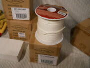 One New Unopened Box Of 5/32 X 400and039 White Military Grade 550 Paracord Bulk Reel