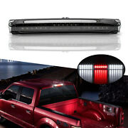 For 1997-2003 Ford F-150 F250 Red/white Smoke 3rd Third Brake Light Stop Lamp