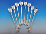 Olympian By And Co Sterling Silver Set Of 8 Iced Tea Spoons New Unused