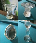 Austria Crystal Candle Holder Candle Stick Photo Frame Pick1 1-