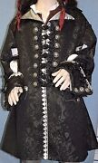 Custom Made Renaissance Pirate Barbossa Potc Colonial Any Style Frock Coat
