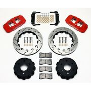 Wilwood 140-9407-dr Rear Brake Kit For 2006-2012 Cadillac Escalade New