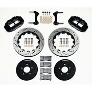 Wilwood 140-9117-d Front Brake Kit Hat For 1994-2004 Ford Mustang New