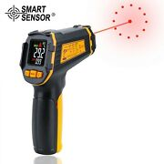 Digital Infrared Thermometer Laser Temperature Meter Non-contact Ir Lcd Alarm