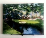 Mark King Painting Augusta 12th Golden Bell 33x42