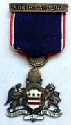 And Co The Sulgrave Institution North Carolina 1914 Sterling Badge