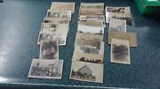 Vtg Great Lot Of 22 Rppc Real Photo Postcard Collection Carpenters, Horse Drawn