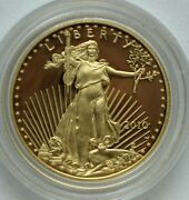 2010-w Gold American Eagle Proof 1/2 Oz 25 In Capsule