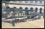 Mint France Real Picture Postcard Army Museum German Bombers Airplanes
