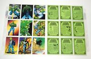 1992 Comic Images The Savage Dragon Trading Cards Complete 1-90 Nice